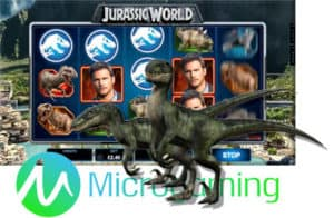 microgaming jurassic world video slot