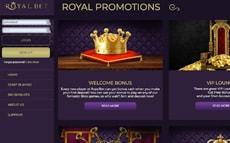 royalbet casino screenshot lobby
